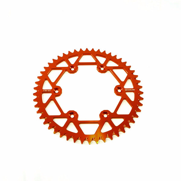 KTM Chain and Sprocket Kit - Orange - MOJO-KTM-CSK-ORG