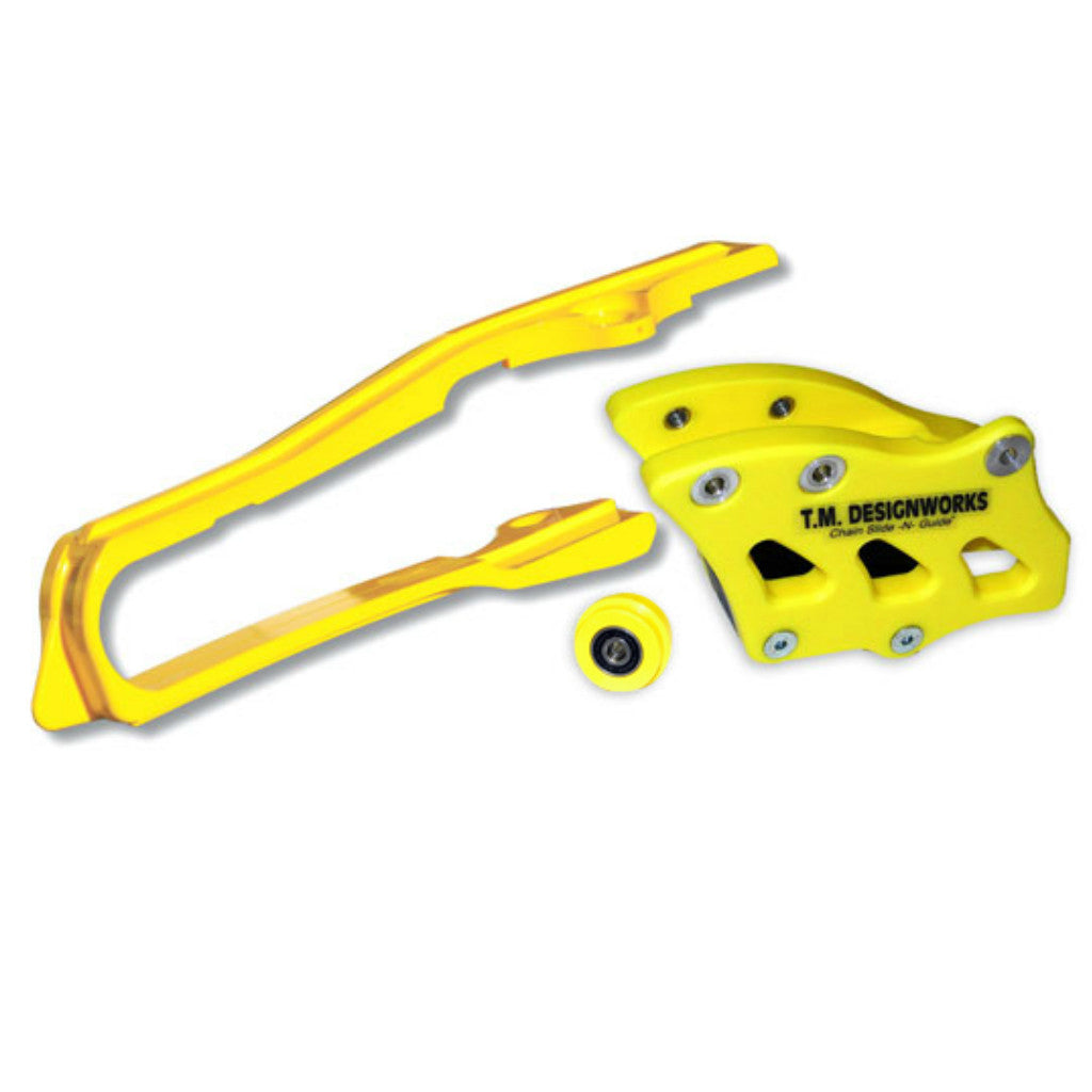 TM Designworks - Suzuki Chain Slide-N-Guide Kit - SCP-OR4