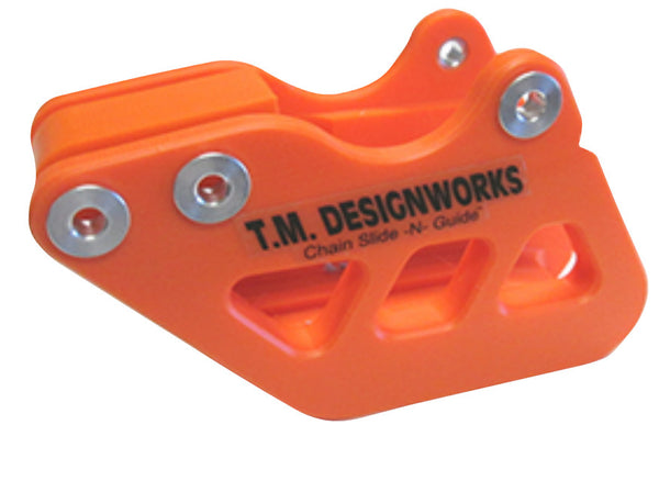 TM Designworks - KTM 125-530cc Factory Edition #1 Rear Chain Guide - RCG-KTM