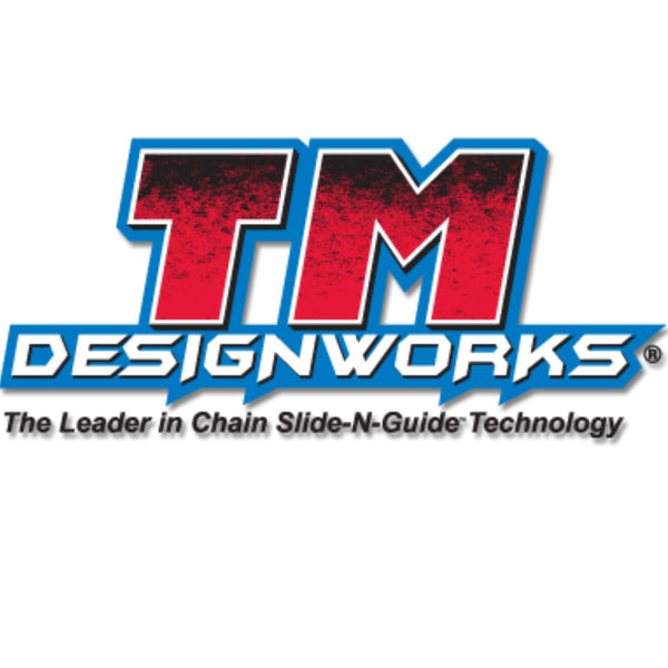 TM Designworks - Kawasaki 85-100cc Factory Edition #2 Rear Chain Guide - RCG-KA85