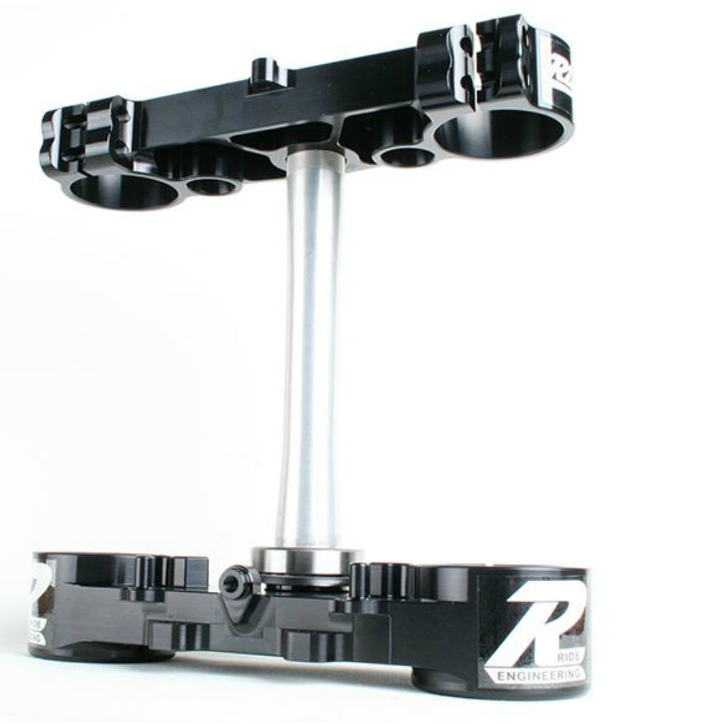 Ride Engineering - Suzuki - 22mm Offset Triple Clamps - Black - RM-BTB-23-BA