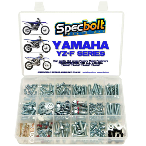 Specbolt - Yamaha 250pc YZF/WR Bolt Kit - YZF250