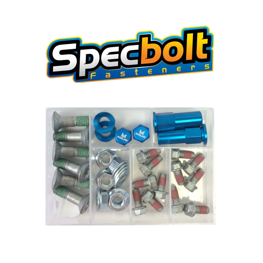 Specbolt - Husqvarna Sprocket and Rotor Bolt Kit with Rim Locks and Valve Stem Caps