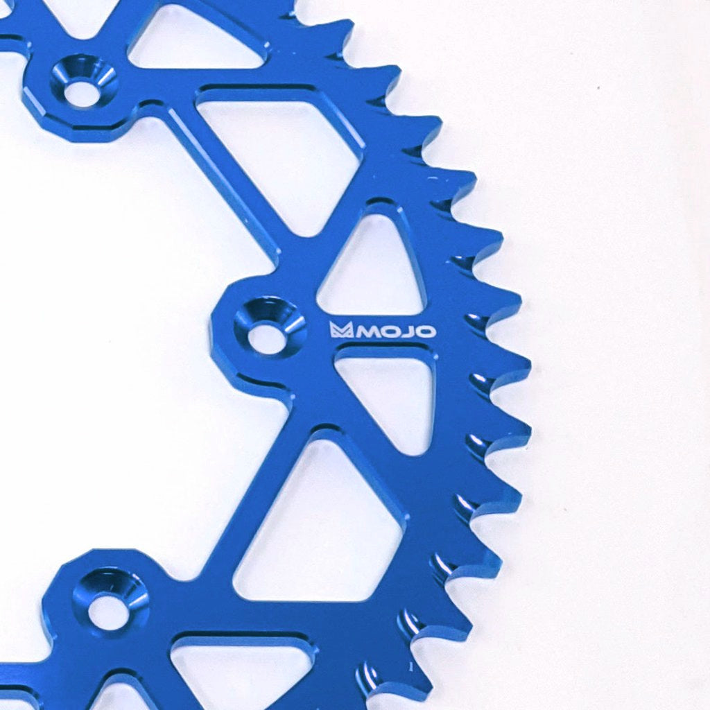 MOJO - KTM Aluminum Rear Sprocket Blue