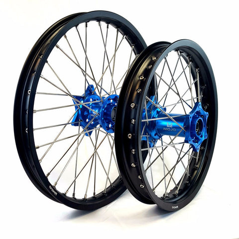 KTM Anodized Hub Wheel Set - MOJO-KTM-WS-BLU
