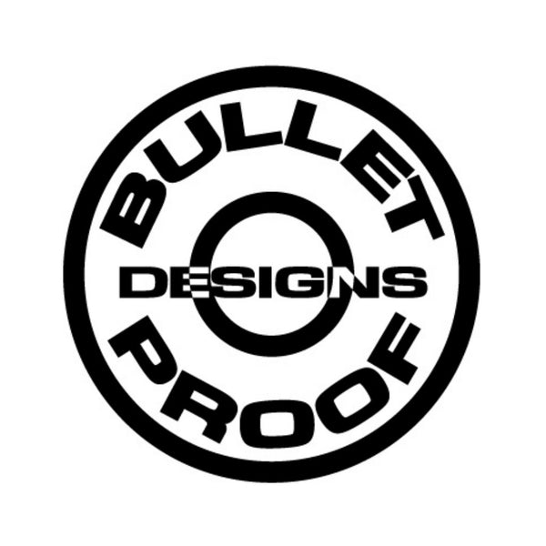 Bullet Proof Designs - Yamaha Radiator Guard - MOJO-YAM-RG-14-STD-4TSIL