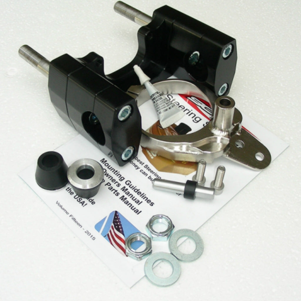 Scotts Performance - Yamaha - Sub Mount Steering Stabilizer Mount Kit - DM-SUB-4725-01