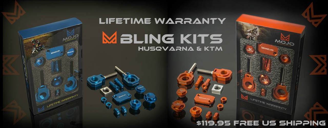 Lifetime Warranty Bling Kits