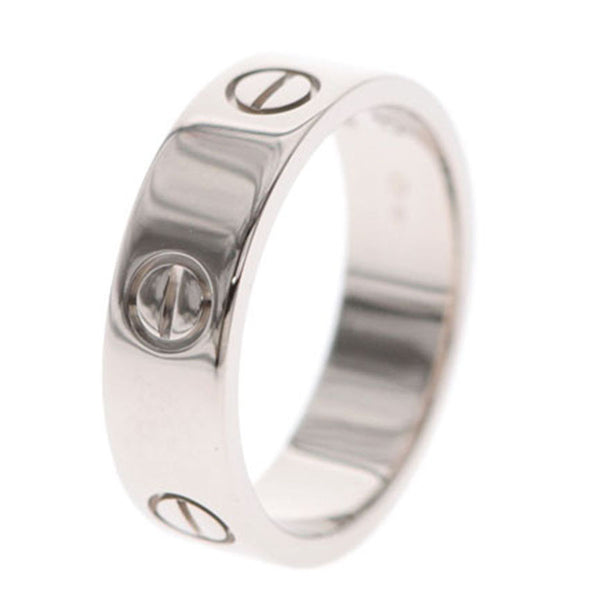 Cartier Love 18K White Gold Ring US Size 8