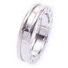 Bvlgari B Zero 1 18K White Gold Ring US Size 4.25