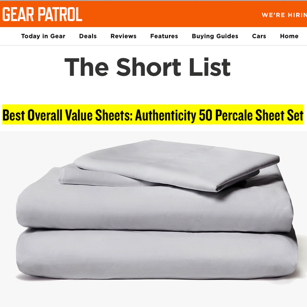 Gear Patrol chooses Authenticity 50