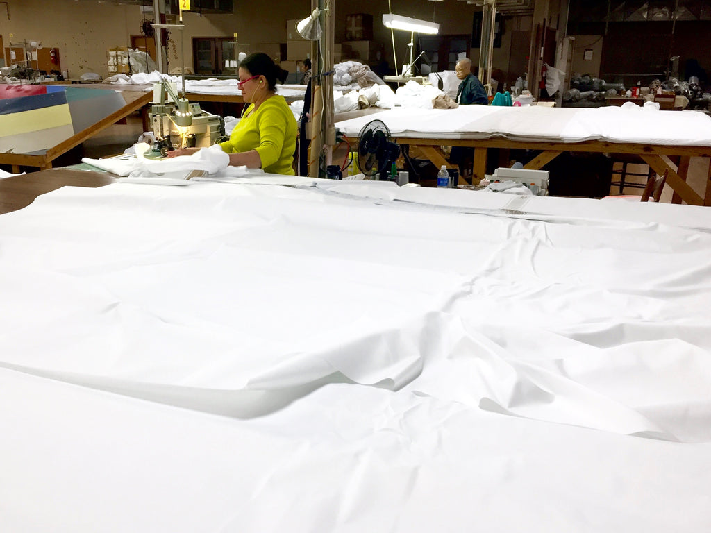 Sewn by hand in America