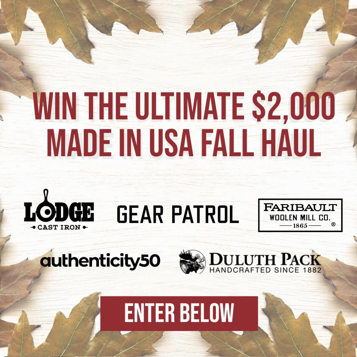 Made in usa giveaway