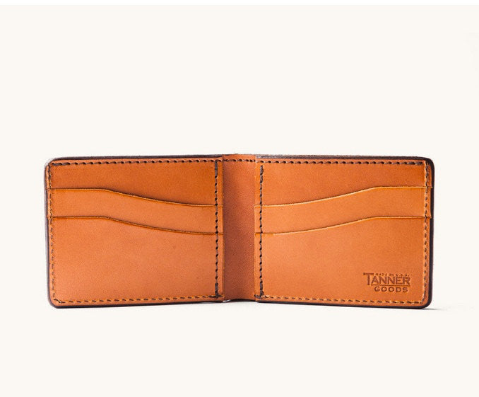 Made in USA Leather Wallet