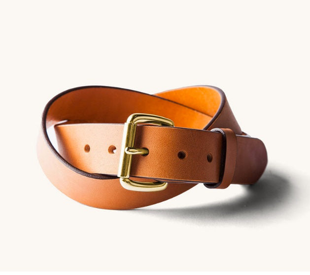 Made in America Leather Belt