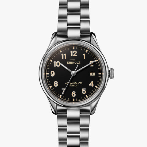 Shinola watch premium time pieces Detroit Michigan