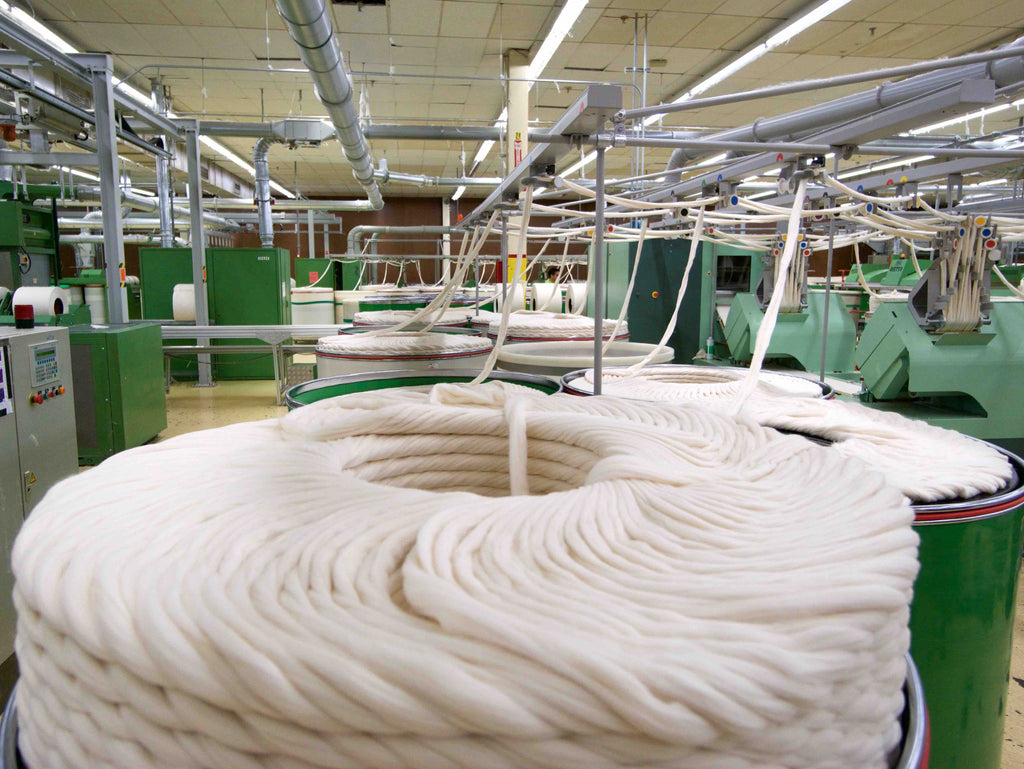 Manufacturer Series - Spinning fine yarns for Made in USA