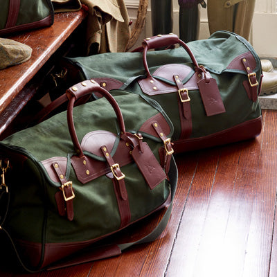 Made in USA Duffle bags by JW Hulme