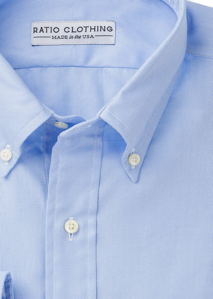 Made in USA dress shirts for men by Ratio Clothing