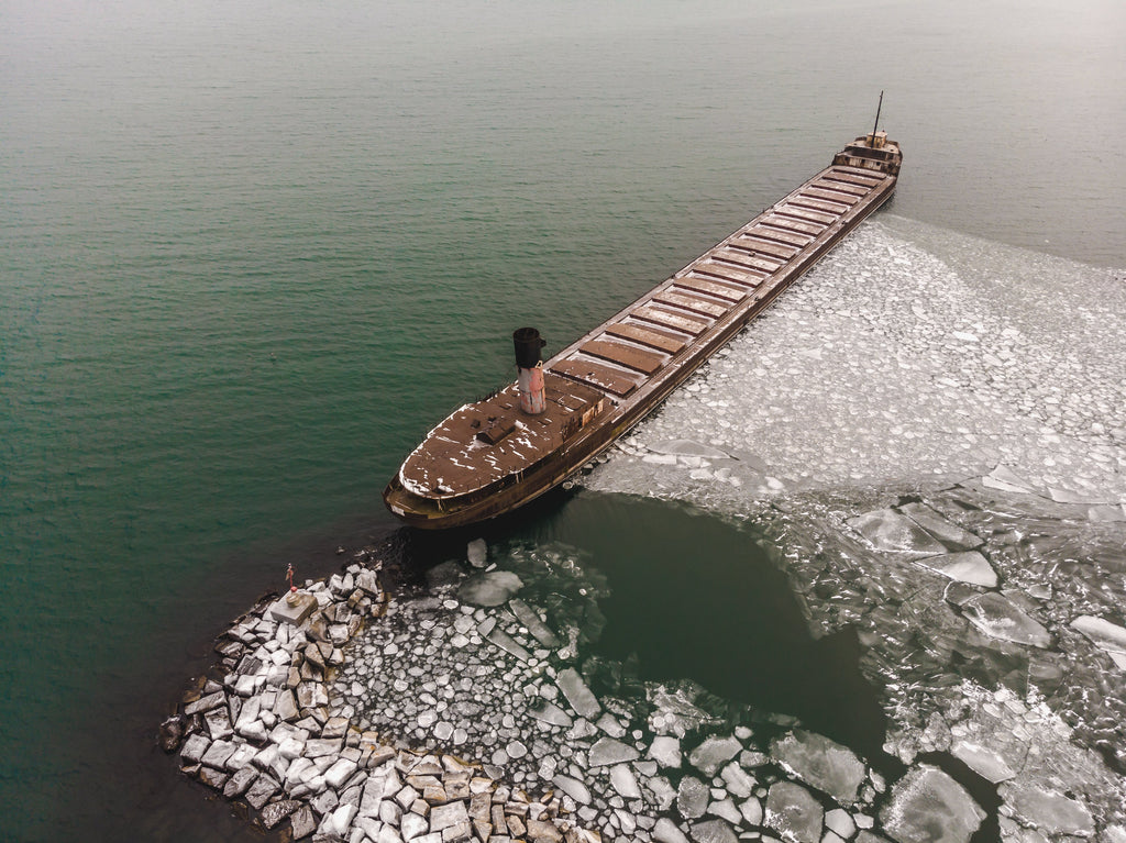 container ships causing pollution