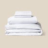 Supima Cotton Percale Duvet Set Made in USA