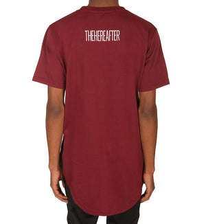 Essential Tee - Burgundy