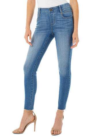 Gia Glider Crop Denim
