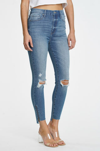 High Rise Skinny Crop