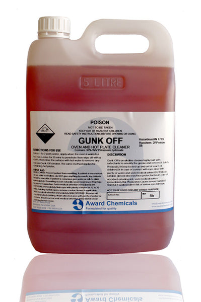 Gunk Off Oven & Grill Degreaser