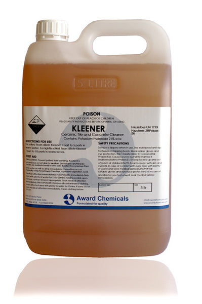 Kleener - Ceramic Tile and Concrete Cleaner
