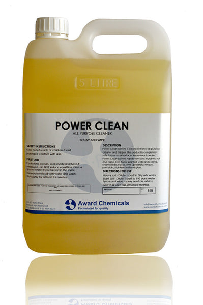 Power Clean - All Purpose Cleaner and Spray and Wipe Product