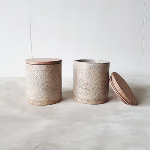 One Off - Ceramic Canisters #8 - FUME Products