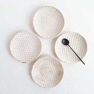 Imprinted Ceramic Dish - FUME Products