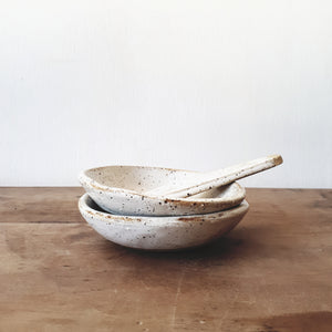 Ceramic condiment dish