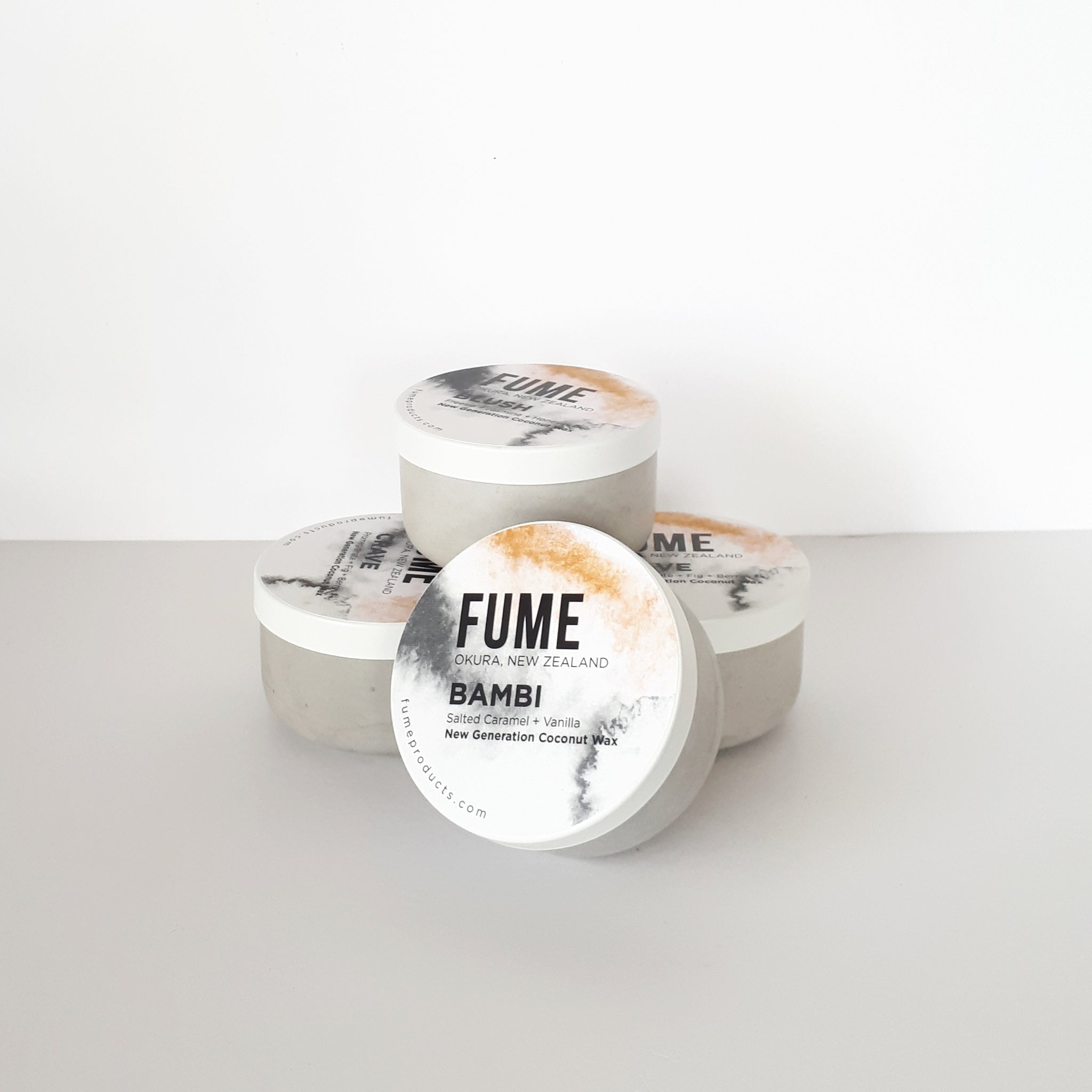 Concrete Candle | Capsule - FUME Products