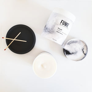 Concrete Pillar Candle - FUME Products