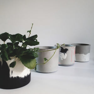 Concrete Planters / Jars - FUME Products