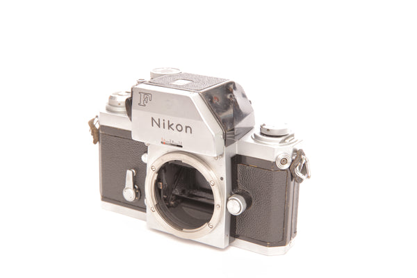 Nikon F in chrome with FTn Photomic prism
