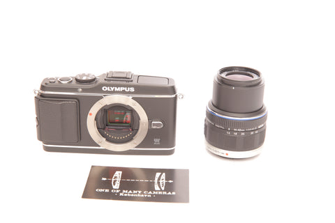 Olympus Pen E-P3 with 14-42mm Black