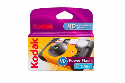 KODAK POWER FLASH 27 + 12 DISPOSABLE