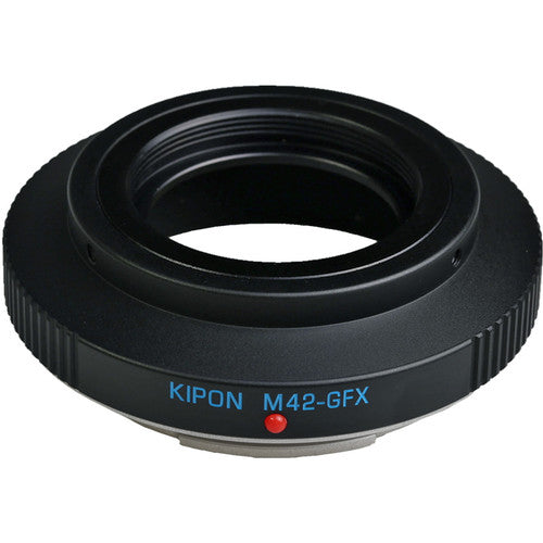 Kipon Adapter for Fuji GFX Body M42-GFX
