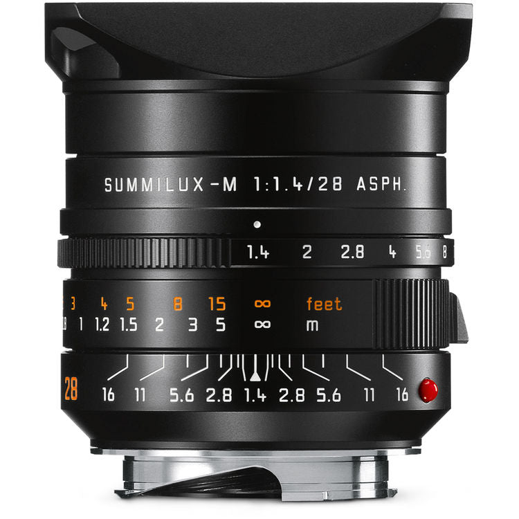 Leica M 28mm f1.4 Summilux ASPH FLE - Rental Only