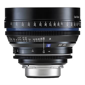 Zeiss Compact Prime CP.2 35mm T1.5 Super Speed Distagon PL Mount - Metric