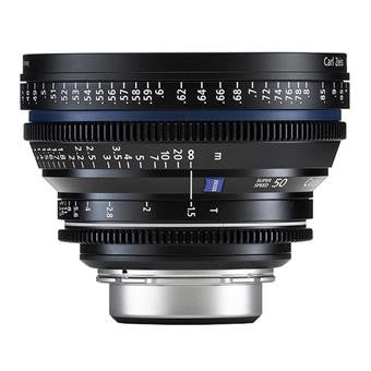 Zeiss Compact Prime CP.2 50mm T1.5 Super Speed Planar PL Mount - Metric