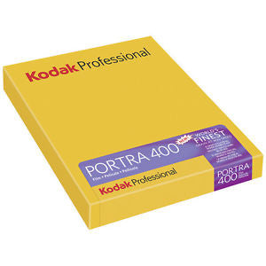 "Kodak Portra 400 4x5"" 10 sheet pack"