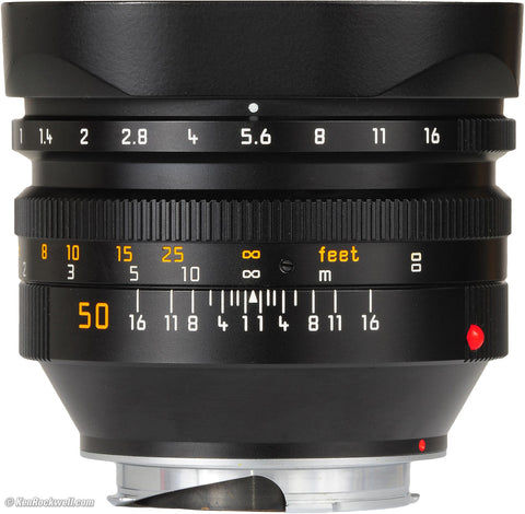 Leica M 50mm f1 Noctilux - Rental Only