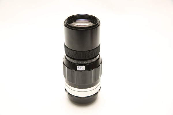 Nikon 200mm f/4 Nikkor-Q Auto - mint condition