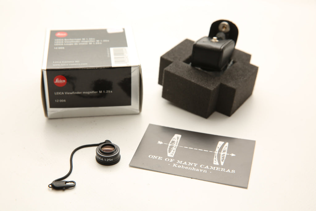 Leica 1.25x Viewfinder Magnifier for M Cameras