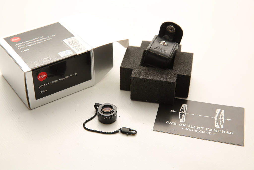 Leica Viewfinder magnifer M 1.4X MINT