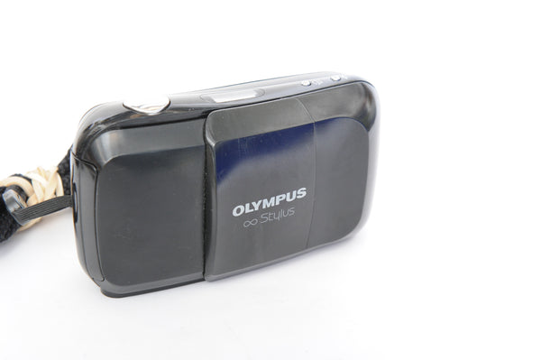 Olympus Stylus MJU-I with strap and original pouch